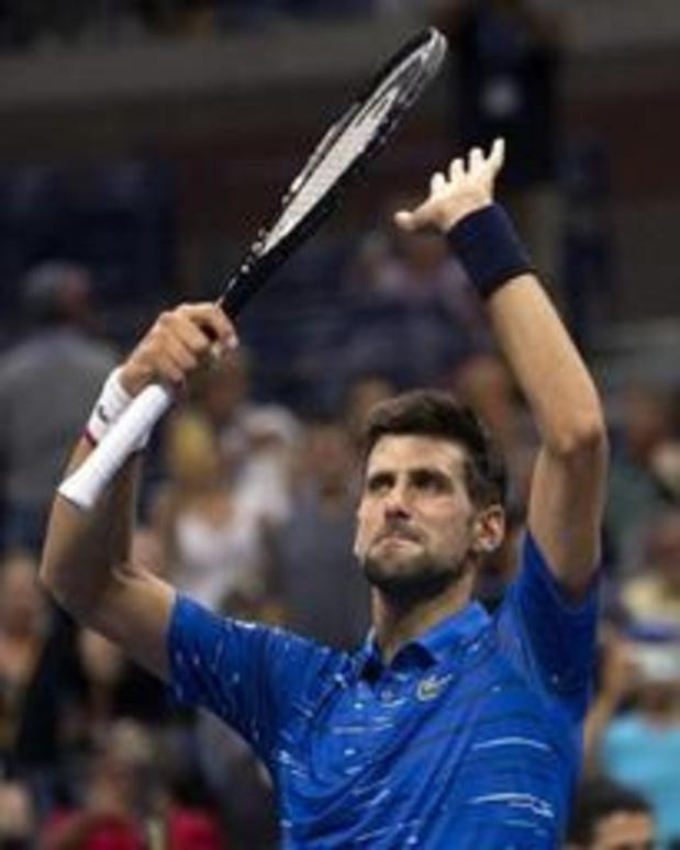 US Open - Titelhouder Djokovic bereikt achtste finales