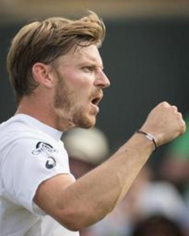 """Wimbledon - """"Heel blij met manier waarop ik geknokt heb"""", zegt Goffin na winst in marathonwedstrijd"""