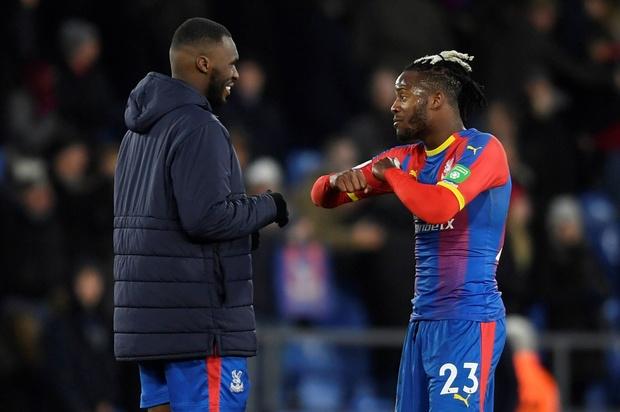 Batshuayi et Benteke devenus indésirables à Crystal Palace
