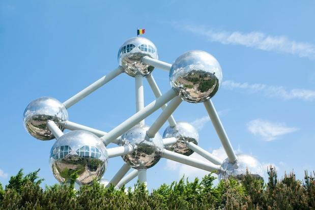 Restaurant in hoogste bol van Atomium staat te koop