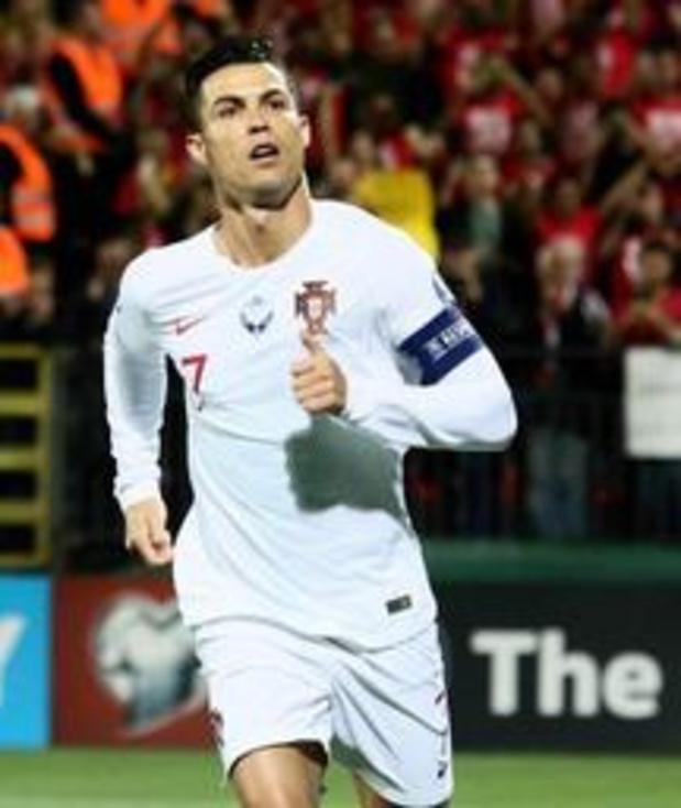 Qualifications Euro 2020 - Quatre buts pour Cristiano Ronaldo, festival de buts pour l'Angleterre, la France gagne