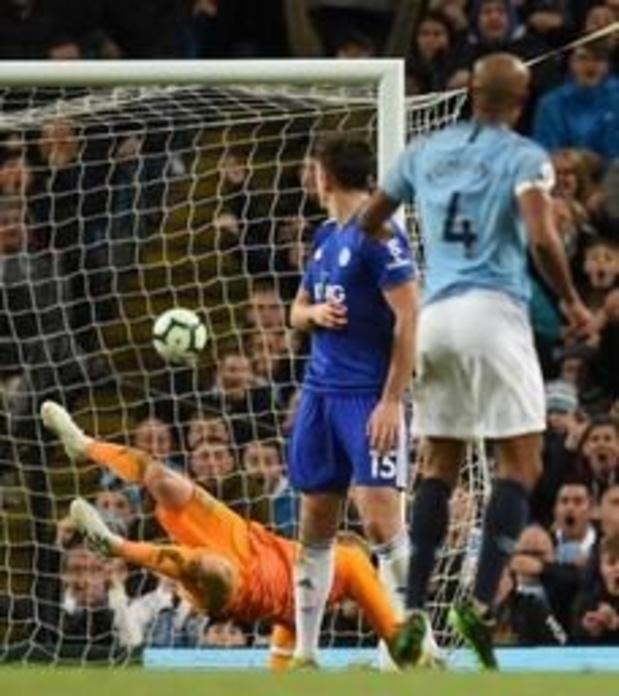 Vincent Kompany a inscrit le goal de la saison en Premier League