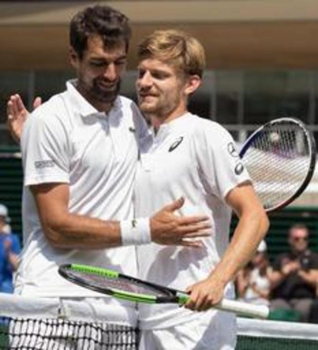 "Wimbledon - Chardy na nederlaag tegen Goffin: ""Ik vond geen oplossingen"""