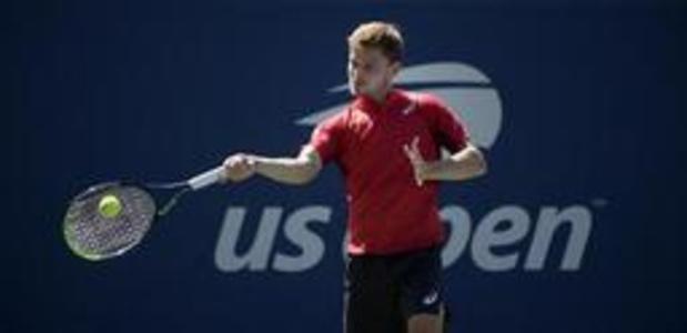 David Goffin naar derde ronde US Open na vlotte winst tegen Barrere