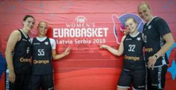 Euro de basket (d) - Groupe D - Point final et la fiche technique de Belgique/Serbie