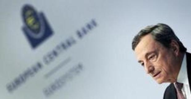 Draghi pessimistisch over economische vooruitzichten