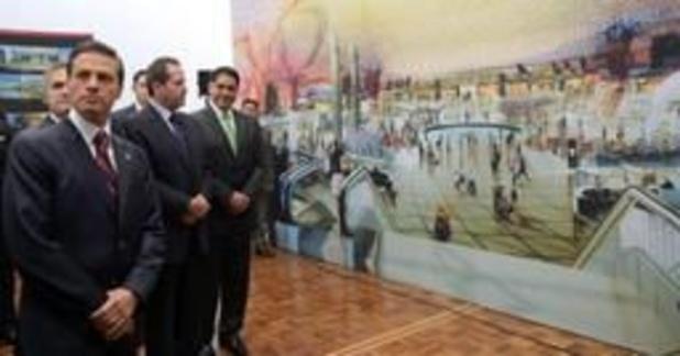 La construction du nouvel aéroport de Mexico débutera lundi