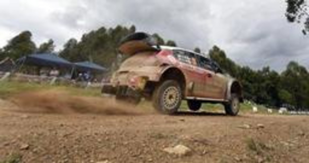 BK rally - Craig Breen wint Ypres Rally