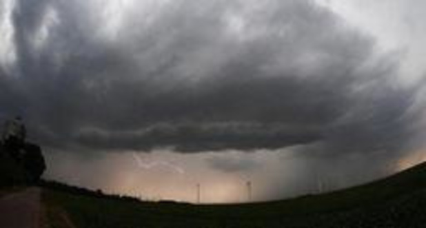 L'orage attendu dès mardi soir