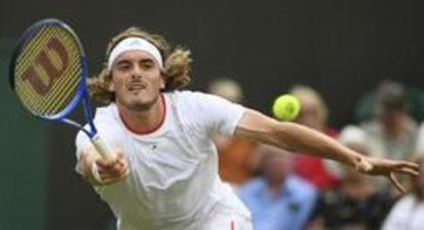Stefanos Tsitsipas sorti au 1er tour par Thomas Fabbiano à Wimbledon