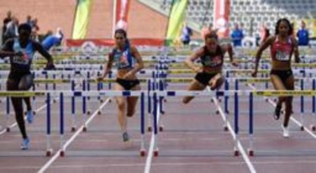 Anne Zagré sacrée sur 100m haies devant Nafissatou Thiam
