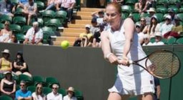 Alison Van Uytvanck naar halve finales WTA Karlsruhe