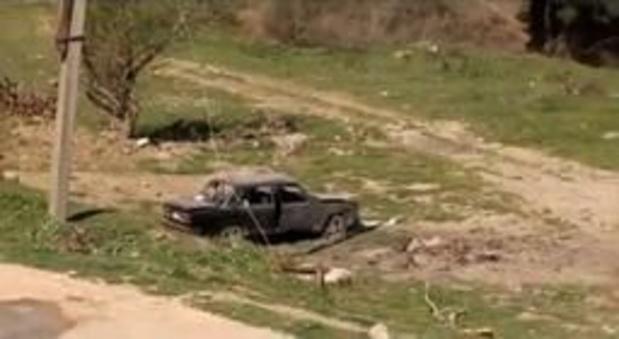 Poetin en Macron roepen op tot 'volledige' stopzetting van gevechten in Nagorno-Karabach