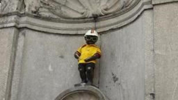 Bruxelles se pare de jaune pour le grand départ du Tour de France