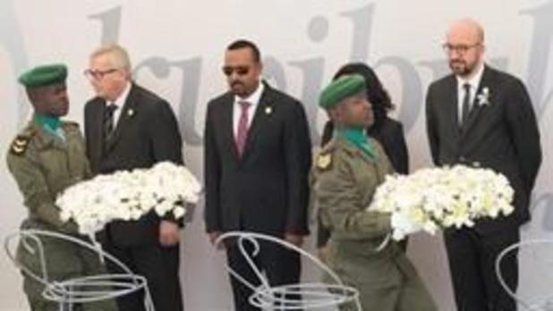"""""""België draagt deel van verantwoordelijkheid in Rwandese genocide"""" (premier Michel)"""