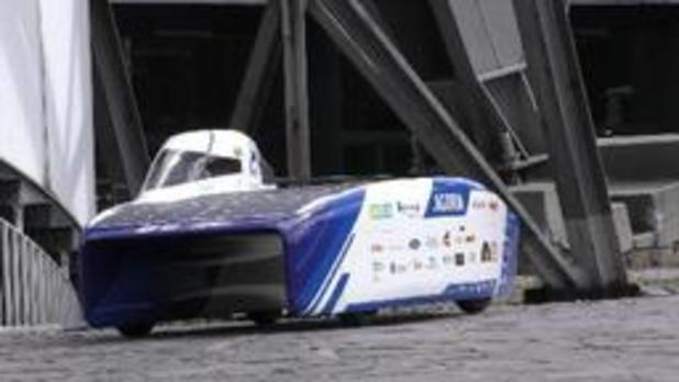 Ingenieursstudenten KU Leuven stellen meest aerodynamische zonnewagen ooit voor