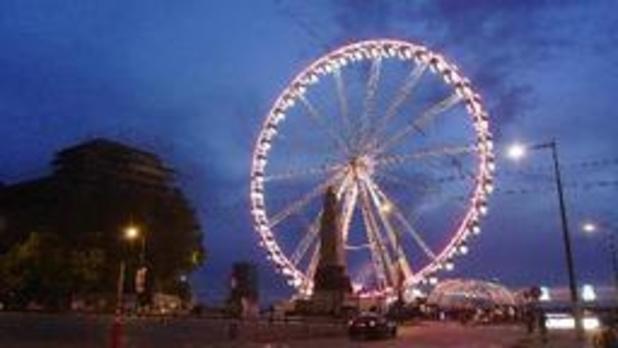 La place Poelaert à Bruxelles accueillera une Grand roue en permanence