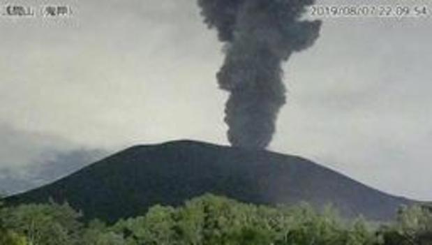 Japan verhoogt alarmniveau na vulkaanuitbarsting