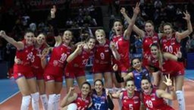 Euro de volley (d) - La Serbie conserve son titre européen en battant la Turquie chez elle en finale