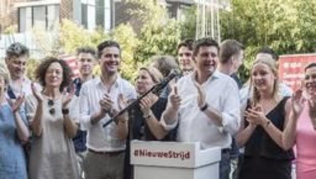 """Verkiezingen19 - Sp.a wil kiezers """"zekerheid"""" bieden en stelt rode taxshift voor"""