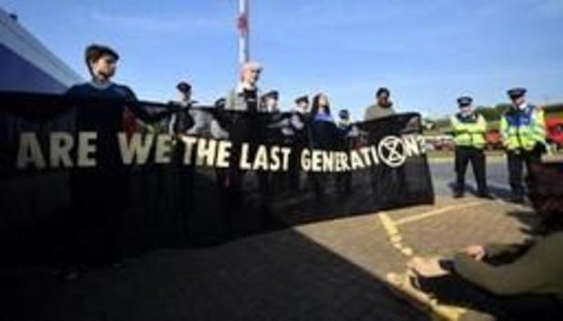 Geen hinder op Heathrow Airport door klimaatprotest