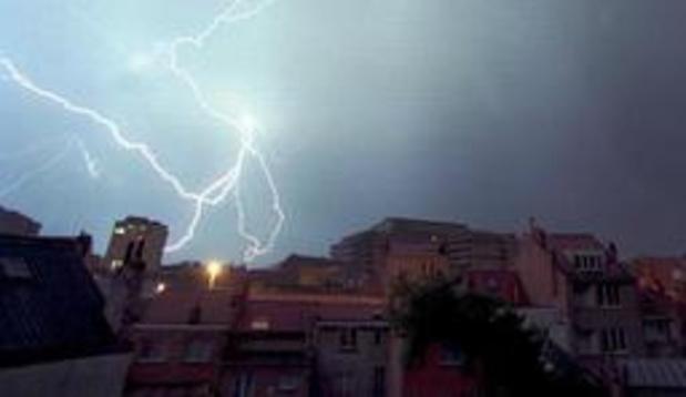 KMI waarschuwt voor onweer zaterdag