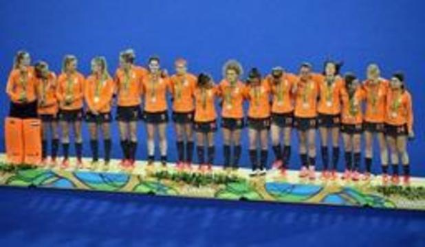 Nederlandse hockeysters zijn eerste eindwinnaars Pro League