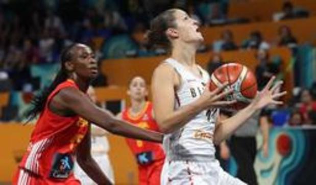EK basket (v) - Belgian Cats verliezen ook van Spanje