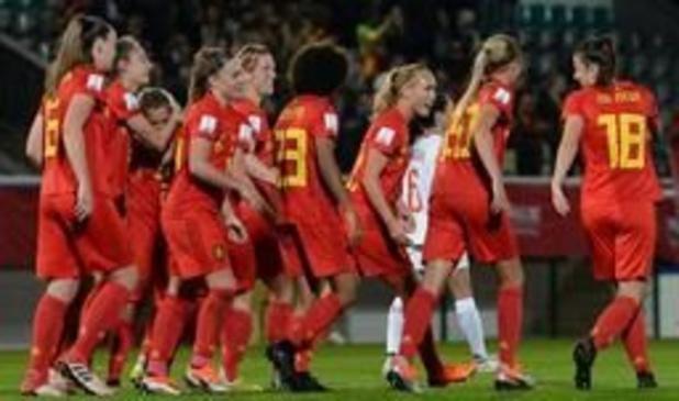 Red Flames - Red Flames treffen Verenigde Staten voor een vriendschappelijk prestigeduel