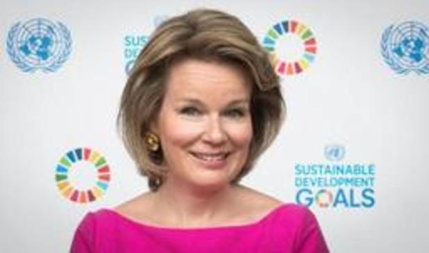 Koningin Mathilde op Unicef-missie naar vluchtelingen en de Masai in Kenia