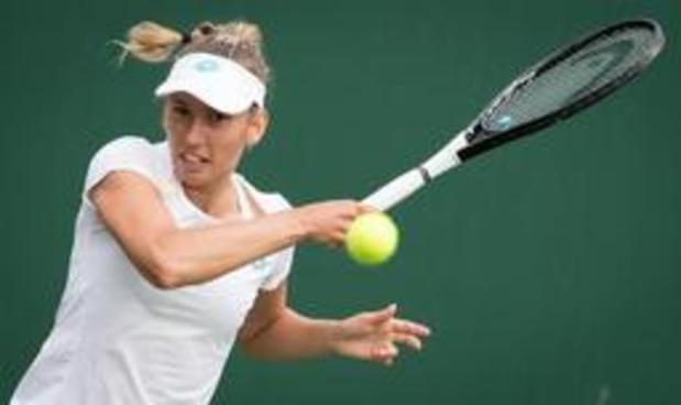 Elise Mertens voorbij Roemeense Monica Niculescu naar derde ronde