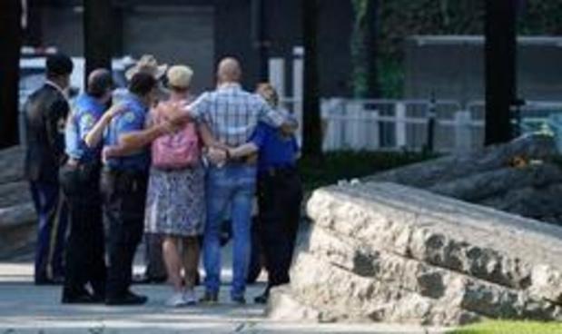 Verenigde Staten brengen hulde aan slachtoffers 9/11