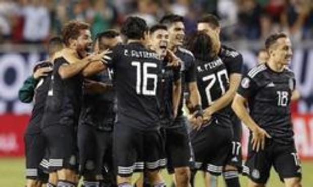 Le Mexique signe une 8e victoire finale en Gold Cup