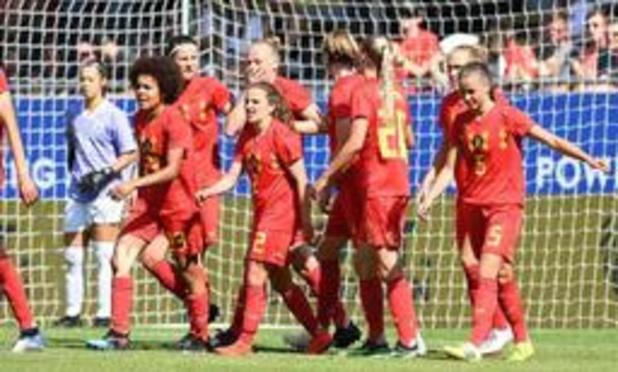 Belgen zwaaien Zeler uit met monsterzege in oefeninterland tegen Thailand