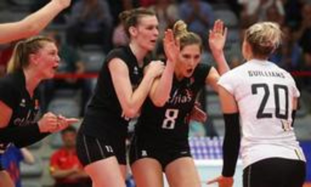 Women's Nations League Volley - Yellow Tigers winnen ook van Nederland