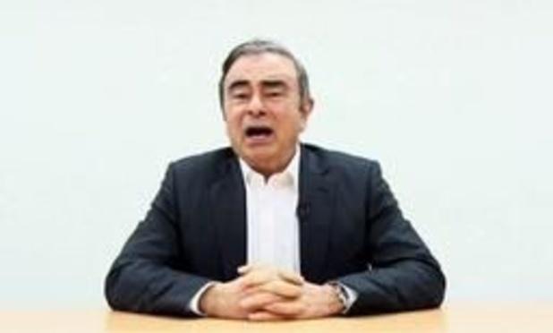 Hooggerechtshof verwerpt beroep tegen nieuwe aanhouding Carlos Ghosn