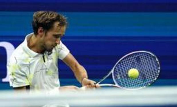 US Open - Medvedev plaatst zich in New York voor eerste finale