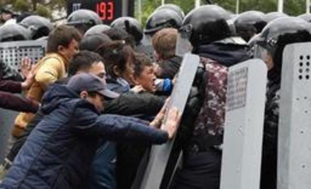 Tientallen mensen opgepakt bij protesten Kazachstan