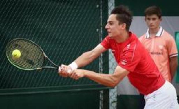 Roland-Garros - Joran Vliegen en quarts de finale du double messieurs