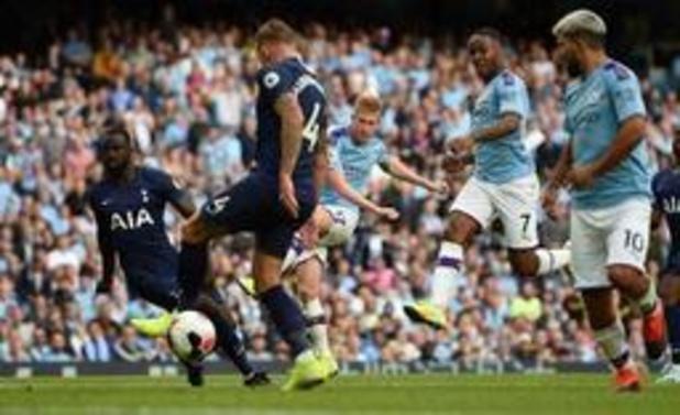 Belgen in het buitenland - Manchester City krijgt efficiënt Tottenham niet op de knieën
