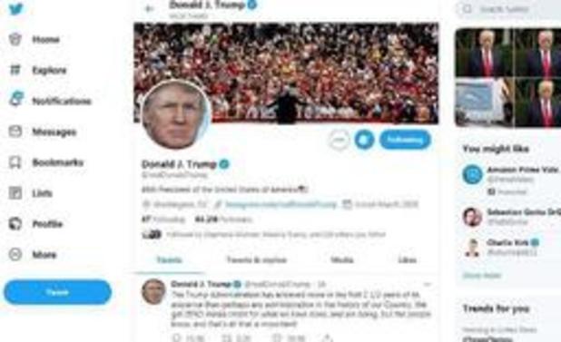 """""""Volfefe""""-index meet invloed van Trump-tweets op financiële markten"""