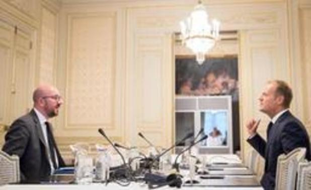 Charles Michel élu à la présidence du Conseil européen