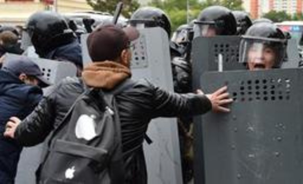 Honderden arrestaties bij protesten
