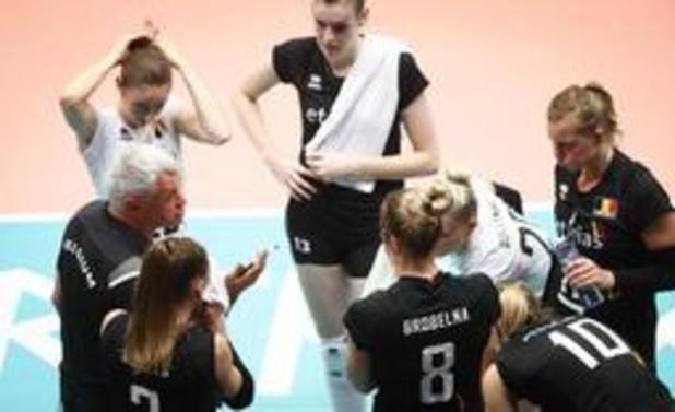 Ligue des Nations de volley dames - La Belgique bat la Russie en trois sets et enregistre un 4e succès en 7 matches