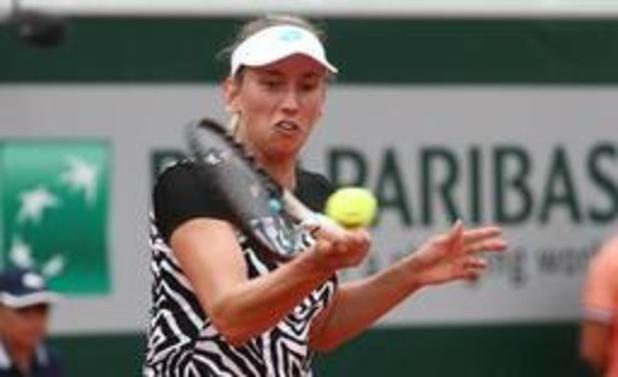 Elise Mertens en quarts du double à Roland-Garros