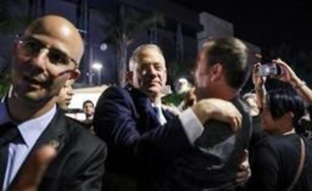 Benny Gantz, l'adversaire de Netanyahu, reconnait sa défaite