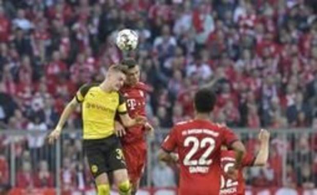 Belgen in het buitenland - Bayern vernedert Witsel en Dortmund, Man City plaatst zich als eerste voor FA Cup-finale