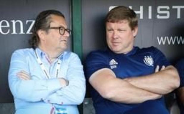 """""""RSC Anderlecht heeft ontslagvergoeding Hein Vanhaezebrouck volledig uitbetaald"""""""