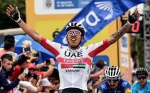 """UAE Team Emirates retire Molano du Tour d'Italie pour des """"valeurs physiologiques anormales"""""""