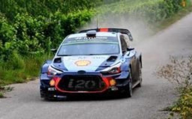 WRC - Thierry Neuville 5e au soir de la deuxième journée en Allemagne